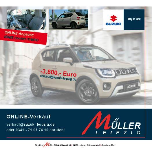 Suzuki Ignis Müller Leipzig